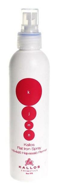 Kallos KJMN Flat Iron Spray - Ochronny spray do prostowania włosów, 200 ml