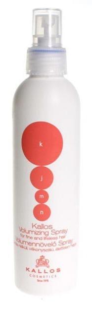 Kallos Kjmn Volumizing Spray - Spray zwiększający objętość fryzury, 200 ml