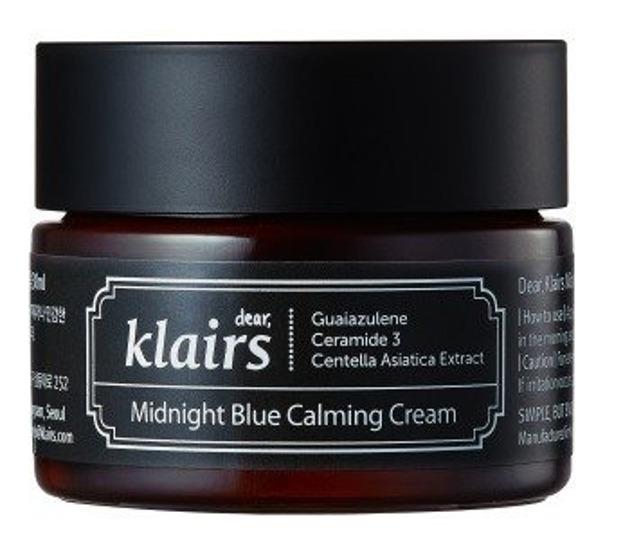 Klairs Midnight Blue Calming Cream - Intensywnie łagodzący krem do twarzy 30ml