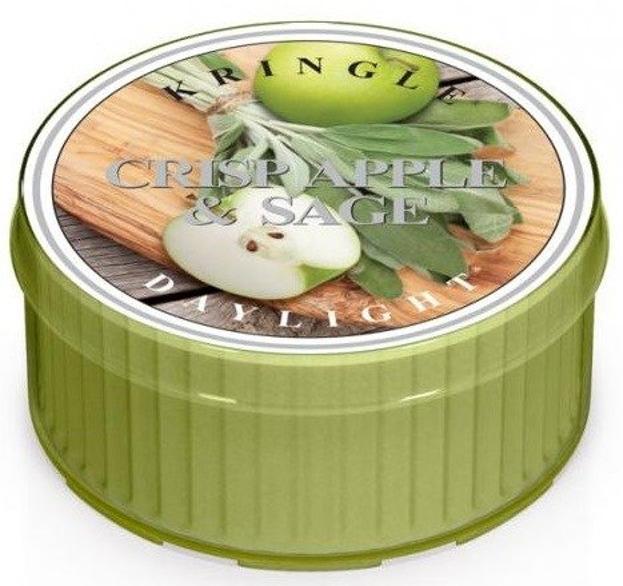 Kringle Candle Daylight Świeczka zapachowa Crisp Apple & Sage