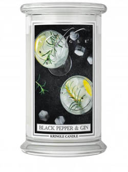 Kringle Candle duży słoik Black Pepper&Gin 624g
