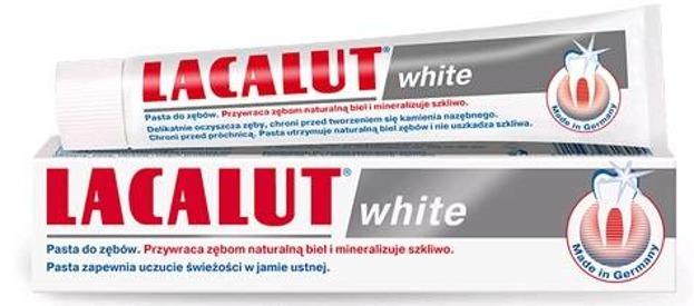 LACALUT pasta do zębów WHITE 100ml