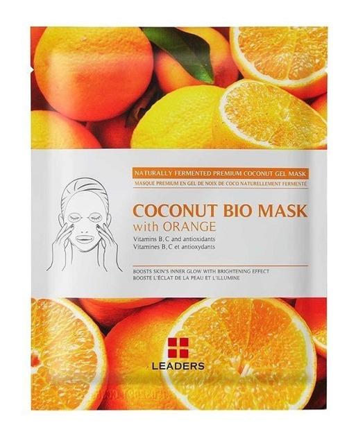 LEADERS Coconut Bio Mask with Orange Rozświetlająca maska w płachcie 30ml