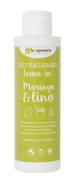 LaSaponaria Odżywka do włosów Moringa i Siemię Lniane 150g