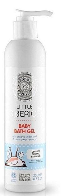 Little Siberica Baby Bath Gel Żel do kąpieli dla dzieci 250ml