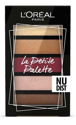 Loreal Mini Eyeshadow Palette Mini paletka 5 cieni do powiek 02 Nudist