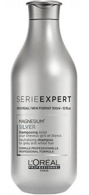 Loreal Professionnel Silver Protect System Shampoo Szampon do włosów siwych i rozjaśnianych 300ml