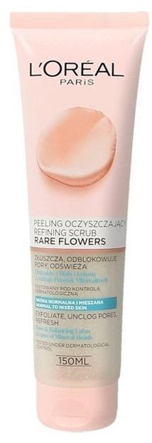Loreal Rare Flower Peeling oczyszczający do twarzy 150ml
