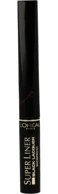 Loreal Super Liner Black Lacquer Waterproof - Wodoodporny eyeliner do oczu Black Lacquer Czarny