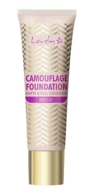 Lovely Camuflage Foundation Podkład o wysokim stopniu krycia 4 Beige 25g