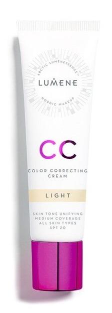 Lumene CC Color Correcting Cream Podkład krem 7w1 CC Light 30ml