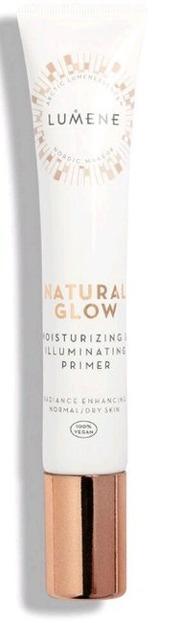 Lumene Natural Glow moisturizig&illuminating primer Nawilżająco-rozświetlająca baza pod makijaż 20ml