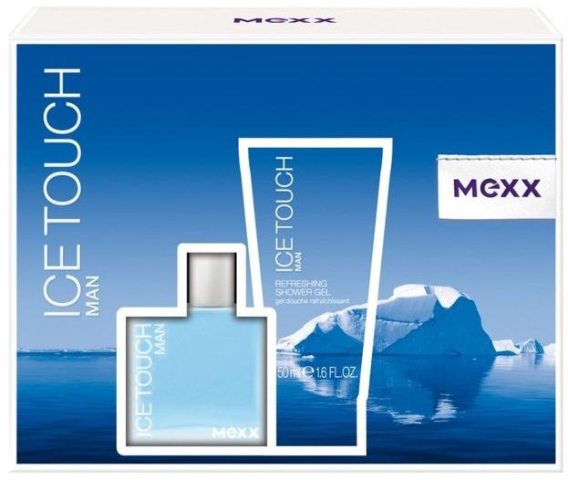 MEXX Ice Touch Man Zestaw Woda toaletowa 30ml+ żel pod prysznic 50ml