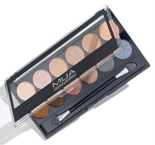 MUA Eyeshadow Palette - Paleta 12 cieni do powiek Undressed