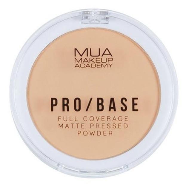 MUA Pro Base Pressed Powder Kryjąco-Matujący puder do twarzy 120 6,5g
