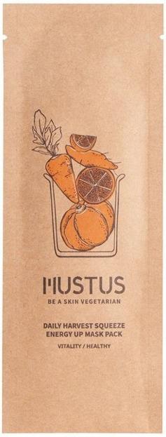 MUSTUS Daily Harvest Squeeze mask Energy Up Energetyzująca maseczka do twarzy 20g