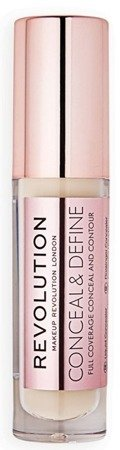 Makeup Revolution Conceal and Define Concealer Korektor do twarzy C2
