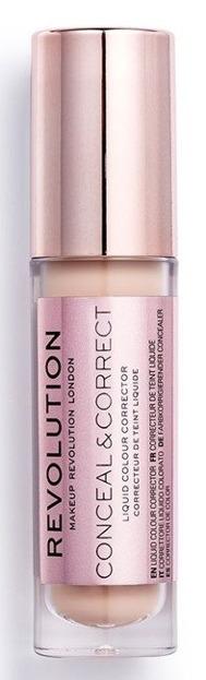 Makeup Revolution Conceal and Define Concealer PEACH Korektor do twarzy