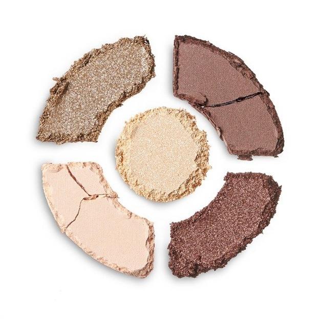 Makeup Revolution DONUTS Chocolate Dipped Zestaw cieni do powiek
