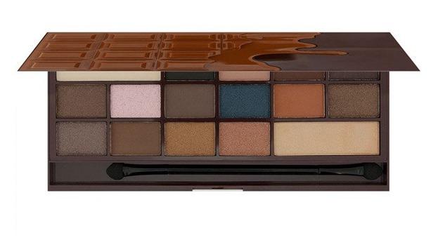 Makeup Revolution I heart  Makeup I Heart Chocolate Salted Caramel CZEKOLADA Paleta cieni do powiek