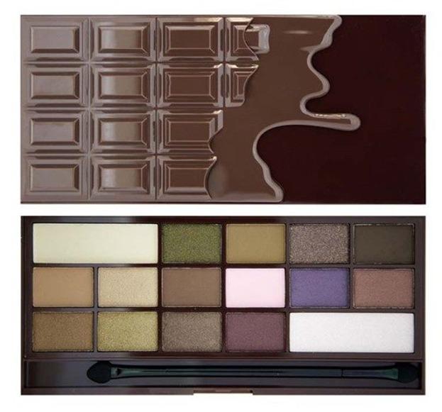 Makeup Revolution I heart  Makeup Wonder Palette I heart Chocolate CZEKOLADA Paleta cieni do powiek