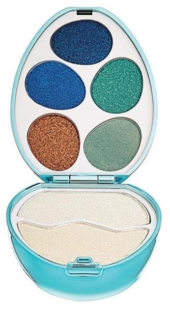 Makeup Revolution I love surprise Mermaid Zestaw cieni do powiek i rozświetlaczy