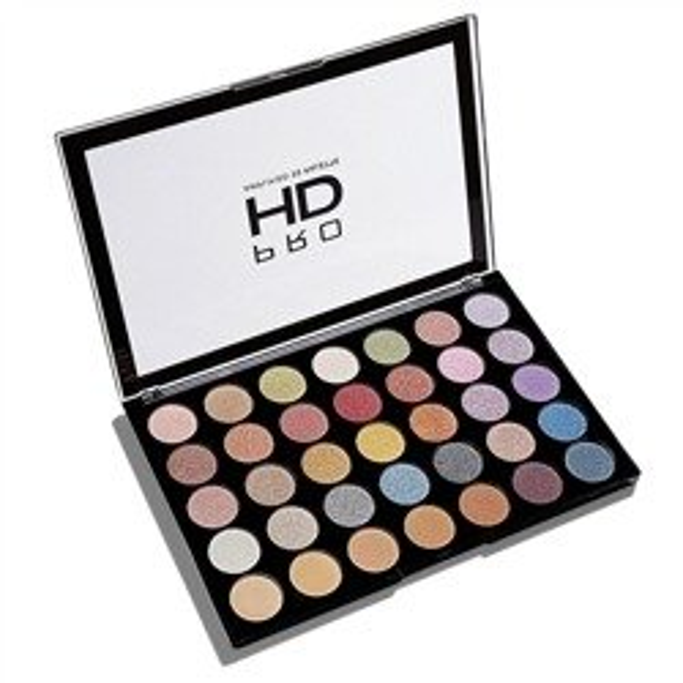 Makeup Revolution PRO HD Amplified 35 Palette Exhilarate Paleta 35 cieni do powiek