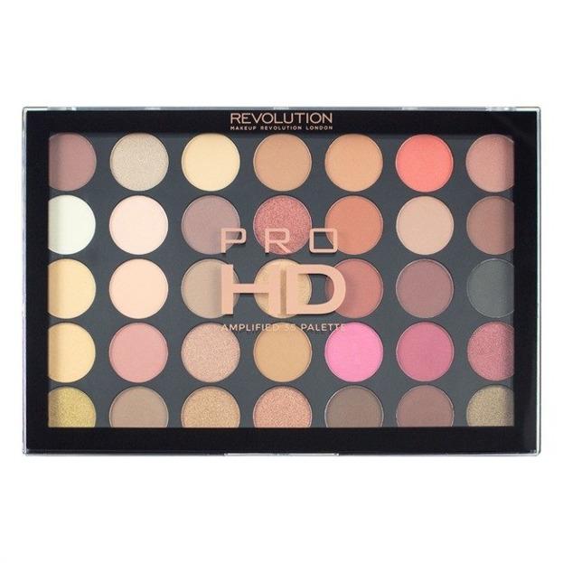 Makeup Revolution PRO HD Amplified 35 Palette Socialite Paleta 35 cieni do powiek