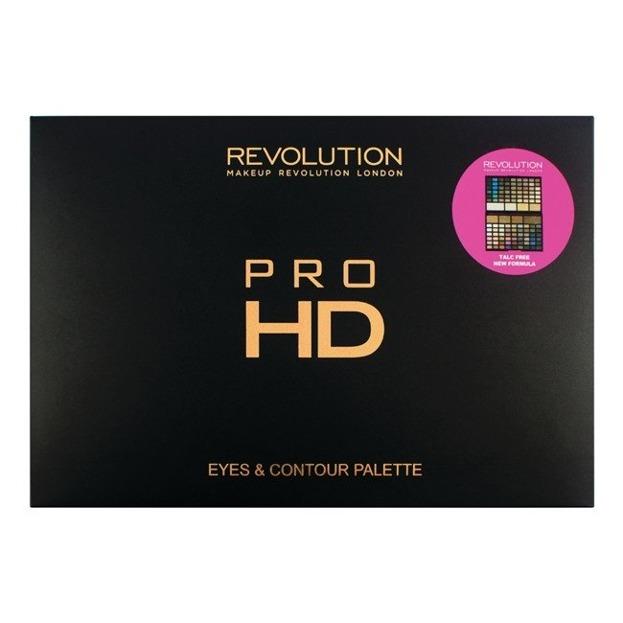 Makeup Revolution PRO HD Eyes&Contour Palettes Paletka do makijażu