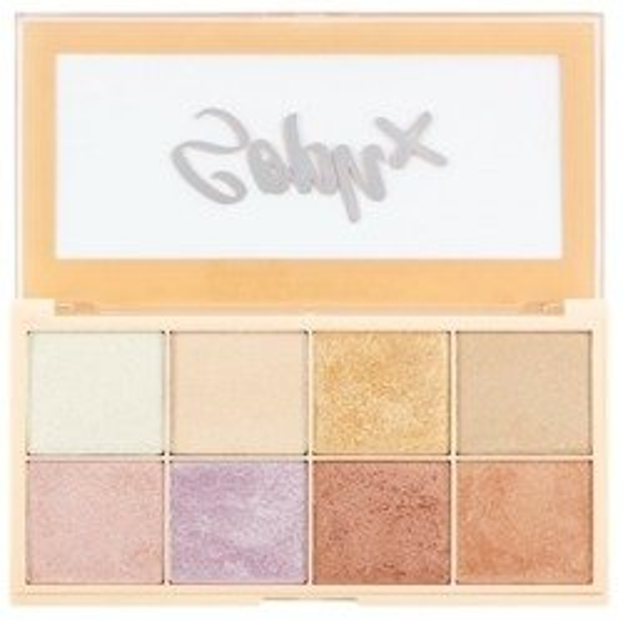 Makeup Revolution Soph X Highlighter Palette Paleta rozświetlaczy