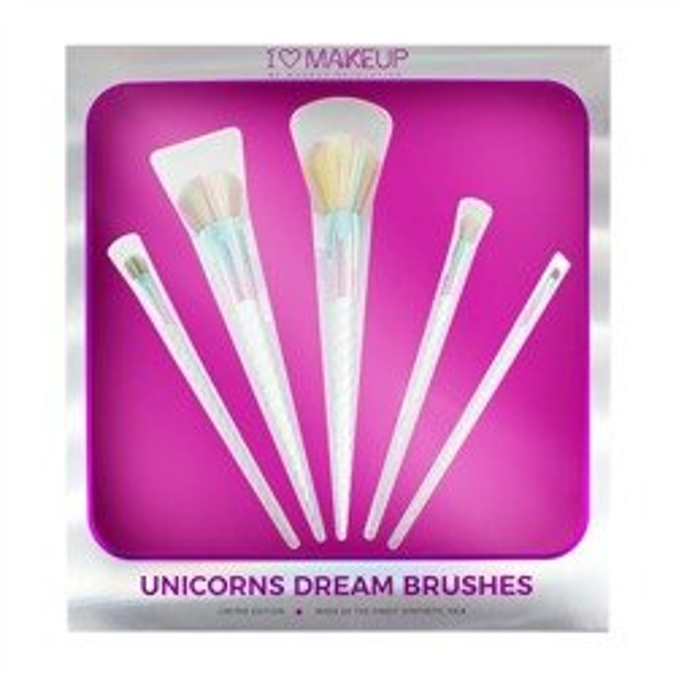 Makeup Revolution Unicorns Dream Brushes Zestaw 5 pędzli do makijażu