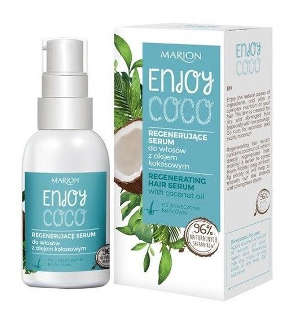 Marion ENJOY COCO Serum do włosów z olejem kokosowym 50ml