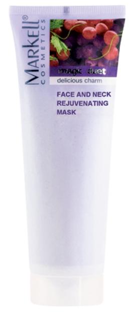 Markell Maska do twarzy i szyi odmładzająca 115g