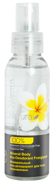 Markell Natural Line Mineralny BIO-Dezodorant do ciała Frangipani 100ml