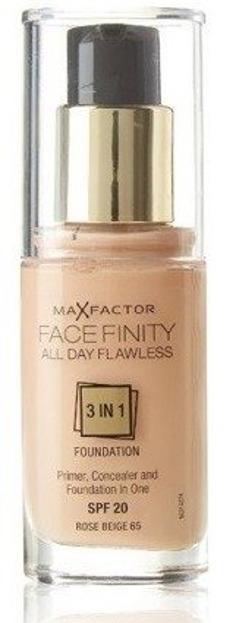 Max Factor Facefinity Foundation Fluid Podkład do twarzy 65 Rose Beige 30ml