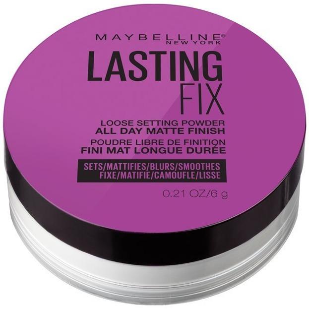 Maybelline Master Fix Loose Pouder Translucent Puder transparentny 6g