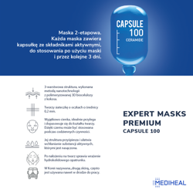 Mediheal Capsule100 2-etapowa maska z ceramidami
