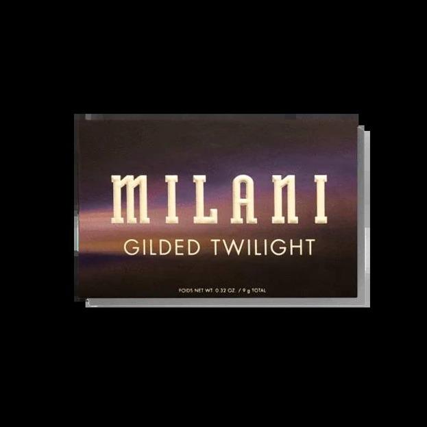 Milani GILDED TWILIGHT Eyeshadow Palette Paleta cieni do powiek 9g