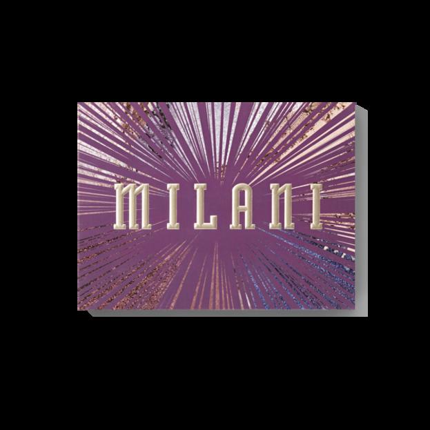 Milani GILDED VIOLET Eye&Face Palette Paleta do makijażu
