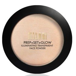 Milani PREP+SET+GLOW Illuminating Transparent Powder Rozświetlajacy puder transparenty 02 8,5g