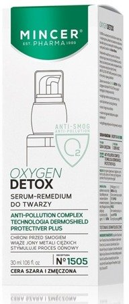 Mincer Pharma OxygenDetox Serum-Remedium do twarzy N1505 30ml