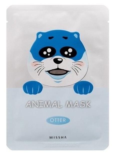 Missha Animal Mask Otter Nawilżająca maska do twarzy