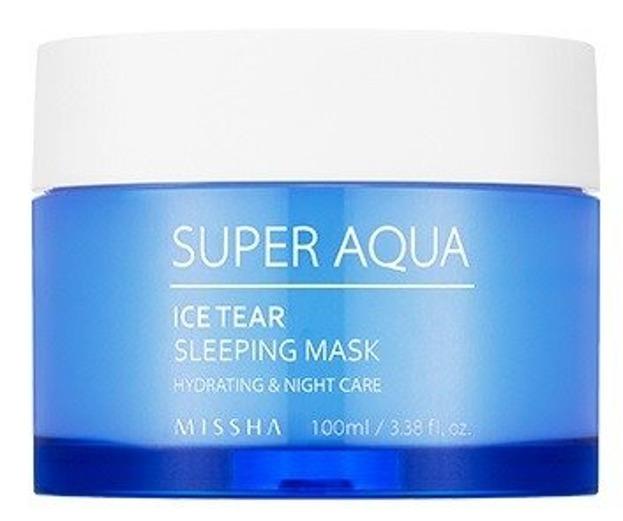 Missha Super Aqua Ice Tear Sleeping Mask Nawilżająca maseczka na noc 100ml