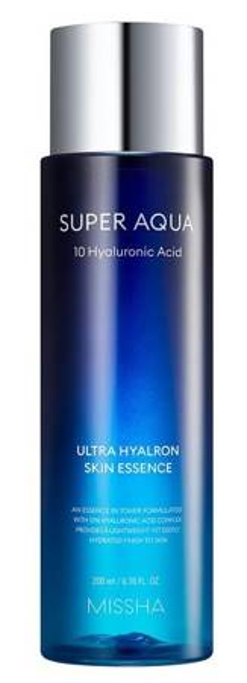 Missha Super Aqua Ultra Hyalron Skin Essence (in Toner) Esencja/Tonik do twarzy 200ml