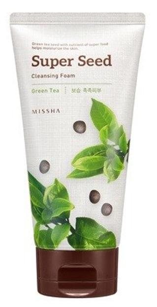 Missha Super Seed Cleansing Foam GREEN TEA Pianka do mycia do twarzy 150ml