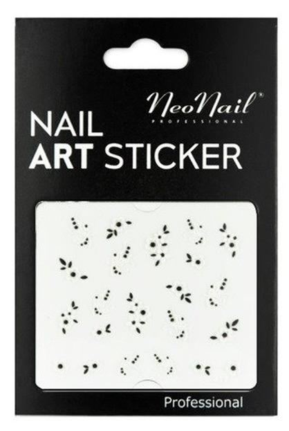 NEONAIL Naklejki na paznokcie Black&white  2804-17