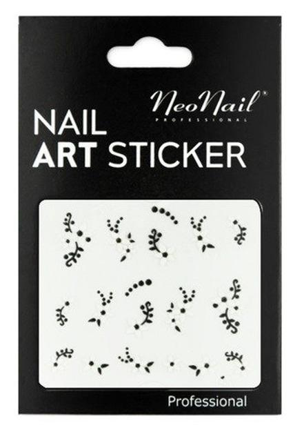 NEONAIL Naklejki na paznokcie Black&white  2804-22