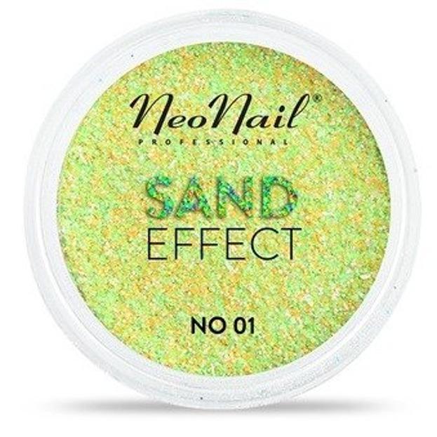 NEONAIL Sand Effect Pyłek do paznokci 01