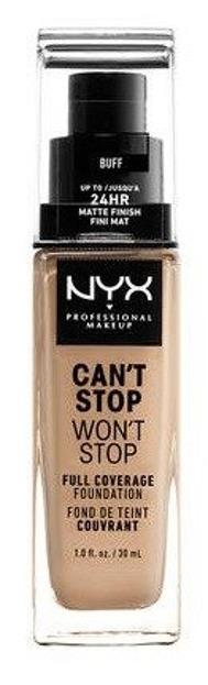NYX Can't Stop Won't Stop Długotrwały podkład kryjący 10 Buff  30ml