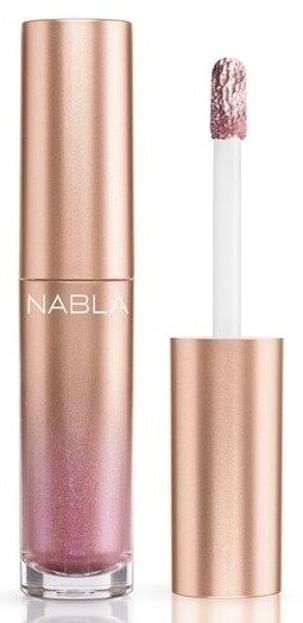 Nabla Denude Metalglam Liquid Eyeshadow Metaliczny cień do powiek w kremie Sideral Shell 4,5ml